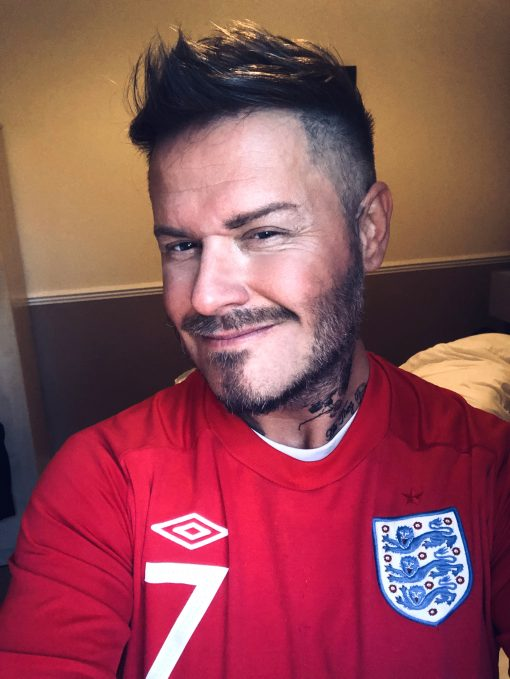 David Beckham Lookalike