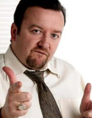 ricky gervais lookalike david brent impersonator