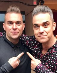 robbie williams lookalike