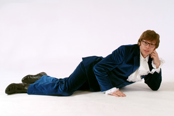 austin powers lookalike impersonator