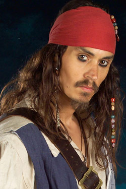 jack sparrow lookalike UK