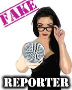 fake reporter