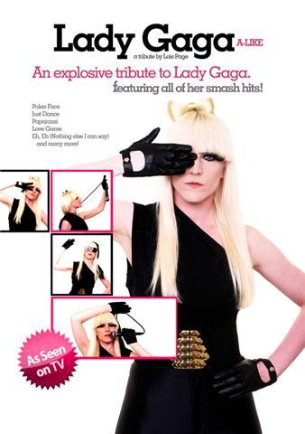 lady gaga lookalike tribute