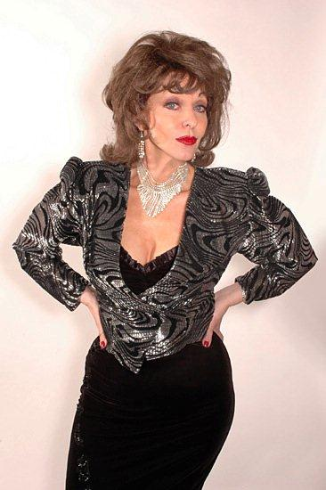 joan collins lookalike