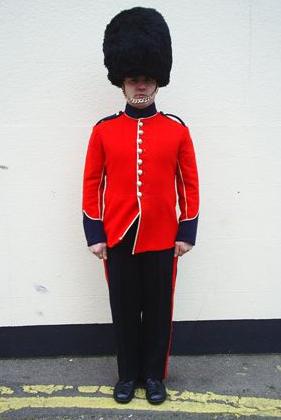 royal guard lookalike