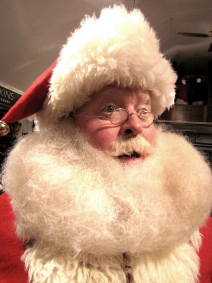 santa claus lookalike