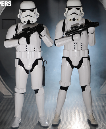 Storm trooper lookalikes