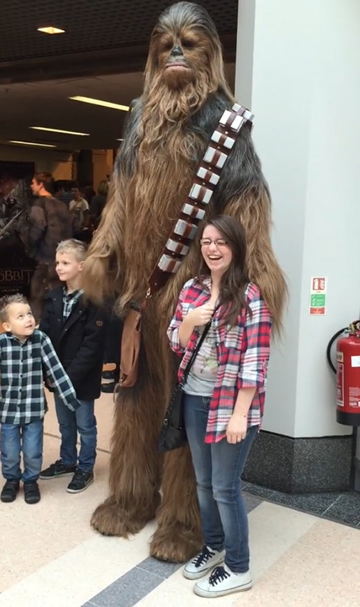 Chewbacca Lookalike (UK)  sc 1 st  Lookalikes & Chewbacca Lookalike - Lookalike Star Wars characters
