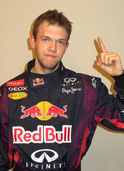 Sebastian Vettel Lookalike