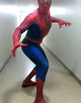 Spiderman lookalike