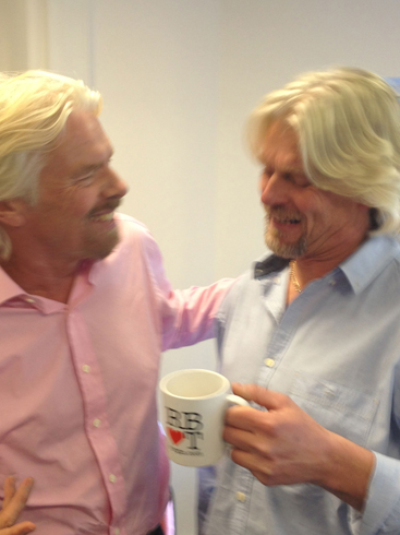 richard branson double