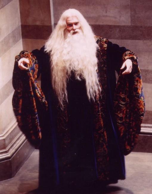 Dumbledore impersonator