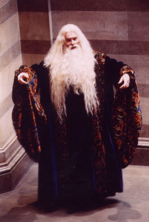 Dumbledore impersonator