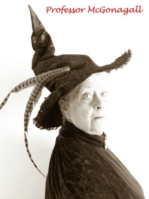 Professor McGonagall lookalike