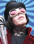 willy wonka impersonator