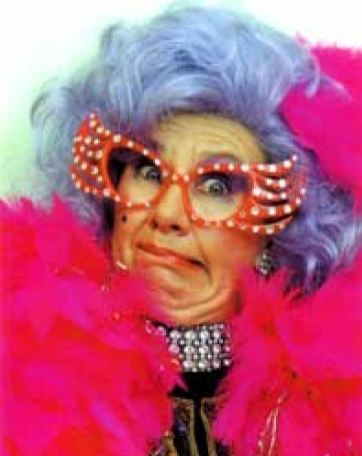 dame edna lookalike impersonator
