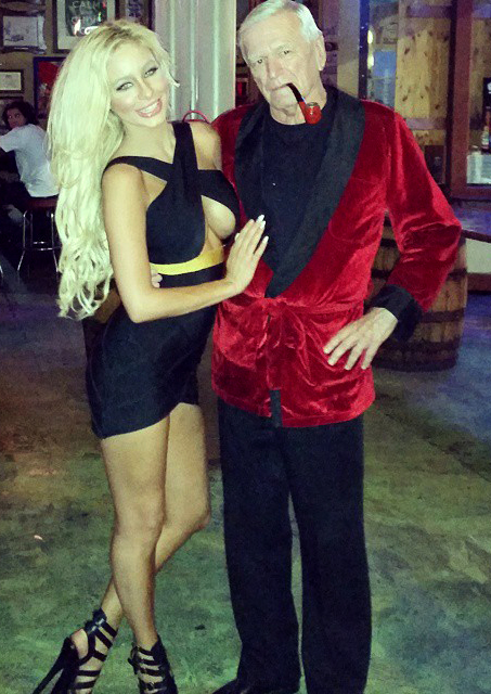 hef and bunny lookalike
