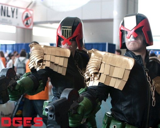 judge dredd lookalikes
