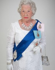 queen elizabeth lookalike