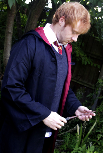 ron weasley harry potter lookalike