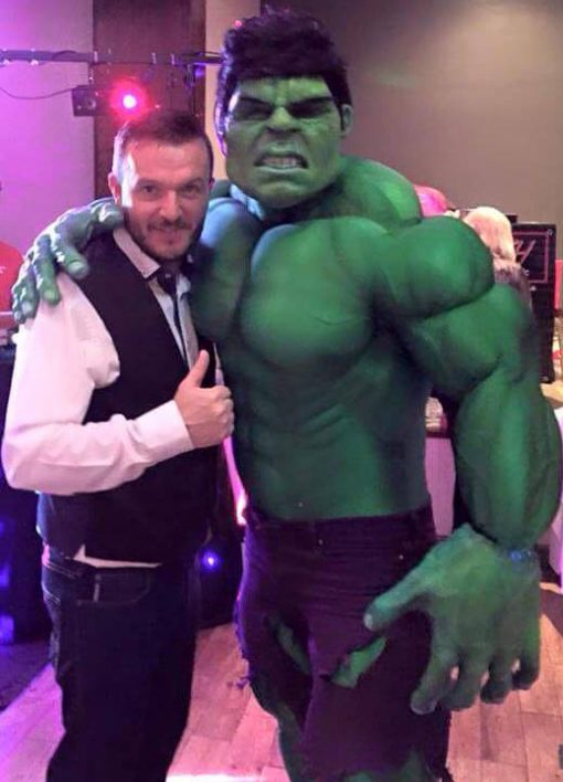 the hulk lookalike
