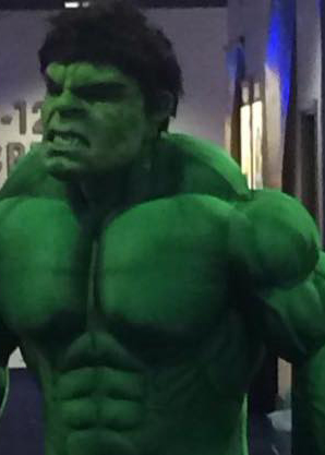 the hulk lookalike impersonator