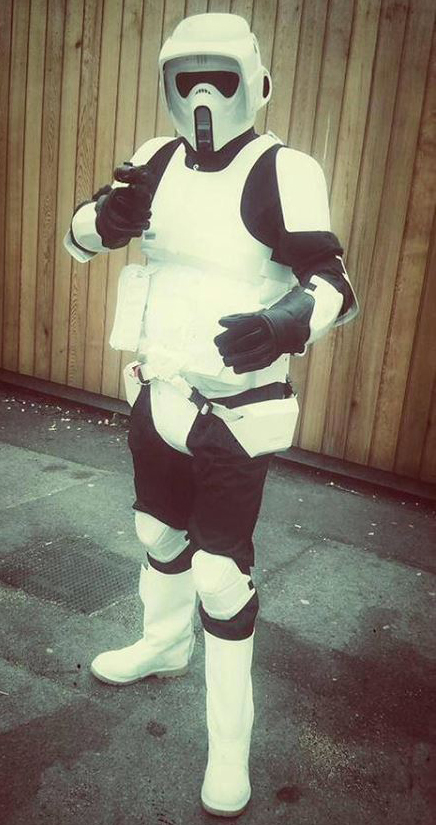 scout trooper impersonator