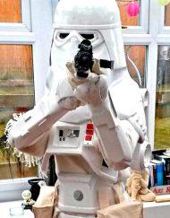 snow trooper lookalike