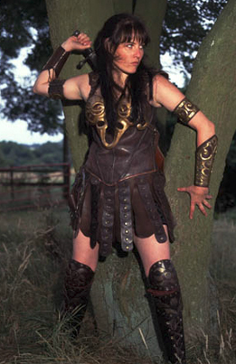 xena warrior princess double