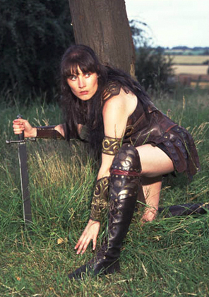 xena warrior princess lookalike