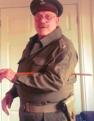 Captain Mainwaring Lookalike
