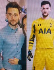 hugo Lloris Lookalike