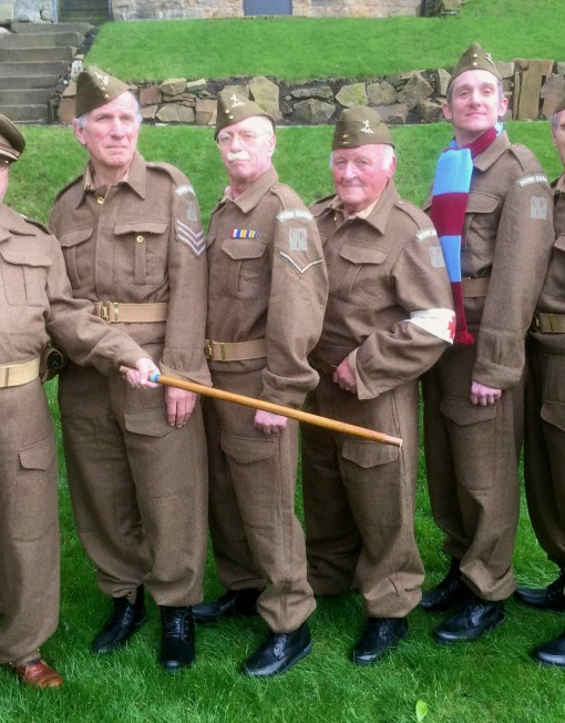 Dad's Army Lookalike