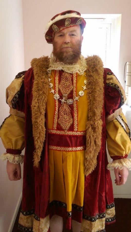 henry VIII Lookalike