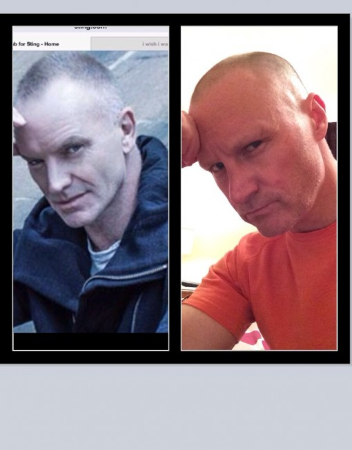 Sting Lookalike