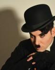 Charlie Chaplin impersonator