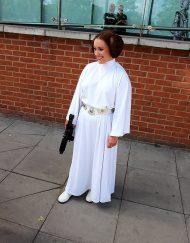 princess Leia double