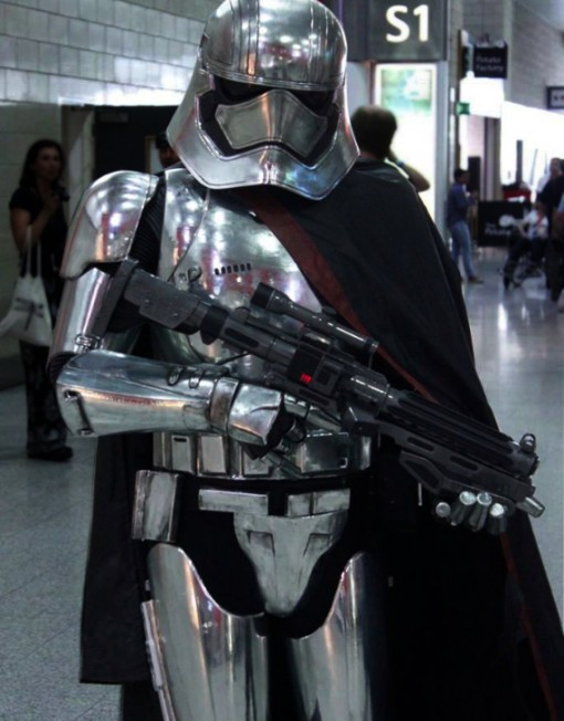 captain phasma impersonator