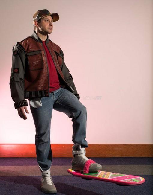 Marty McFly Lookalike
