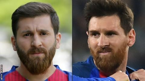 Lionel Messi Lookalike