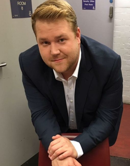 James Corden Lookalike