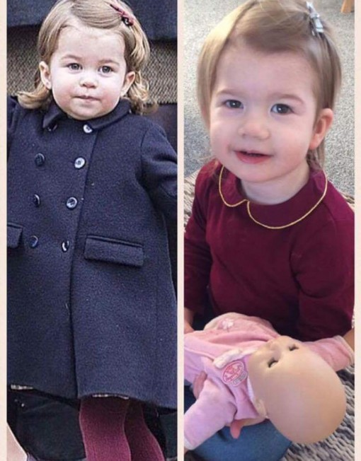 Princess Charlotte Lookalike