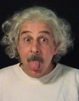 Albert Einstein Lookalike