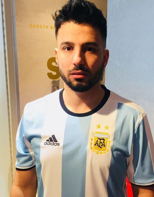 Sergio Aguero Lookalike
