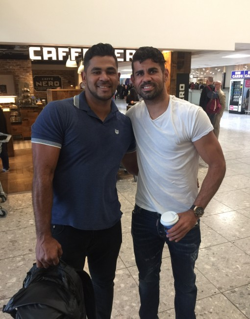 Diego Costa Lookalike