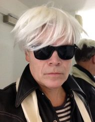 Andy Warhol Lookalike