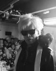 Andy Warhol Lookalike