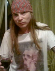 Axel Rose Lookalike