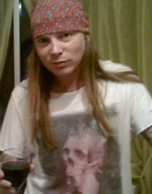 Axel Rose Lookalike