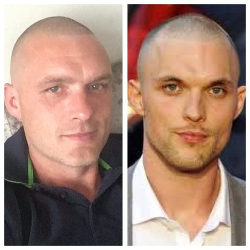 Ed Skrein Lookalike
